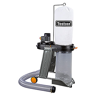 Toolson Equipo de aspiración AS 1200 Pro (550 W, Longitud del tubo flexible: 2.300 mm)