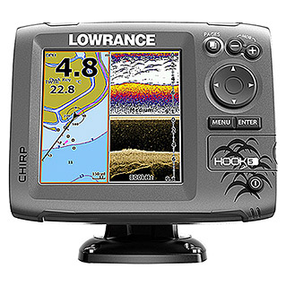 LOWRANCE HOOK-5 OHNETRANSD. 12655-001