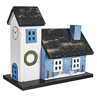 SCANDINAVIAN CHURCH BLAU 195X105X170mm